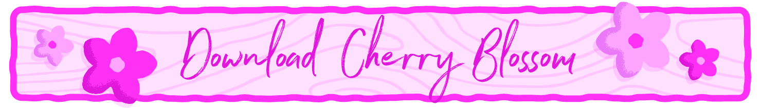 Download cherry blossom printable.
