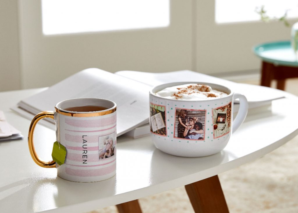 personalized ceramic photo mugs for mother's day gifts