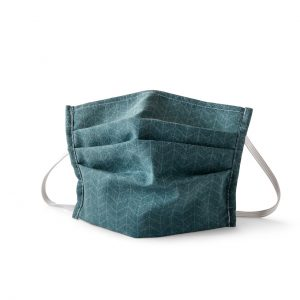 Teal Geo Cloth Face Mask