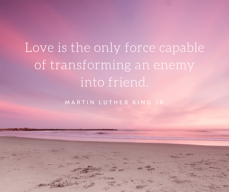 quote about love by martin luther king jr
