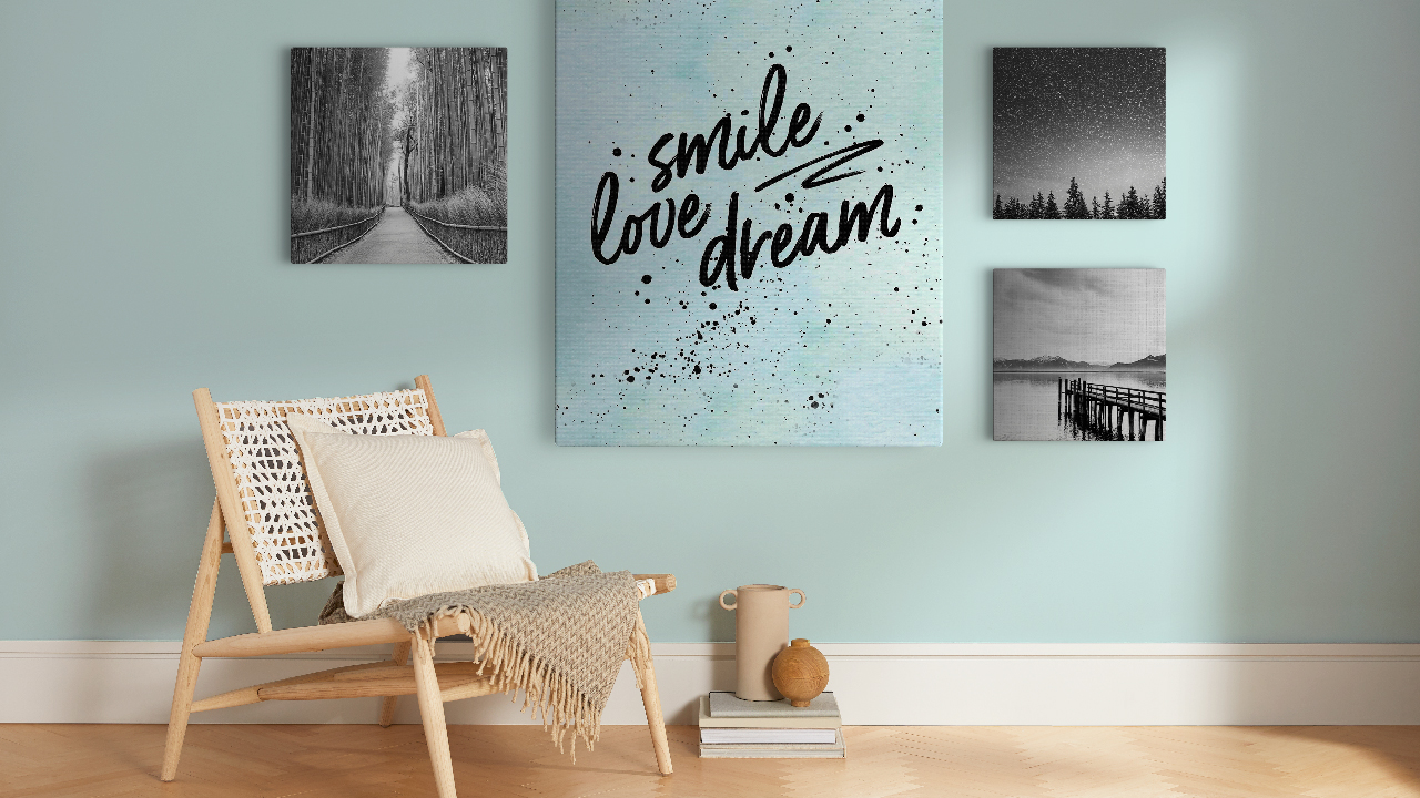 Smile Love Dream Wall Quotes
