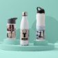 Reusable stainless steel water bottles for an eco-friendly gift