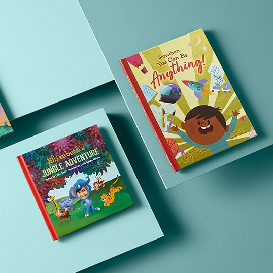 Personalized story books for kids with their photos