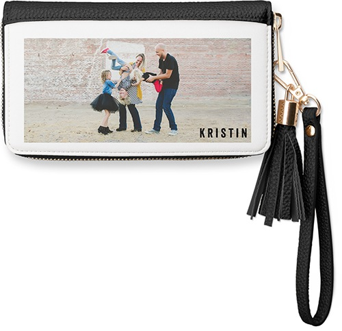 custom wristlet with picture perfect for any new grad carrying keys and wallet together