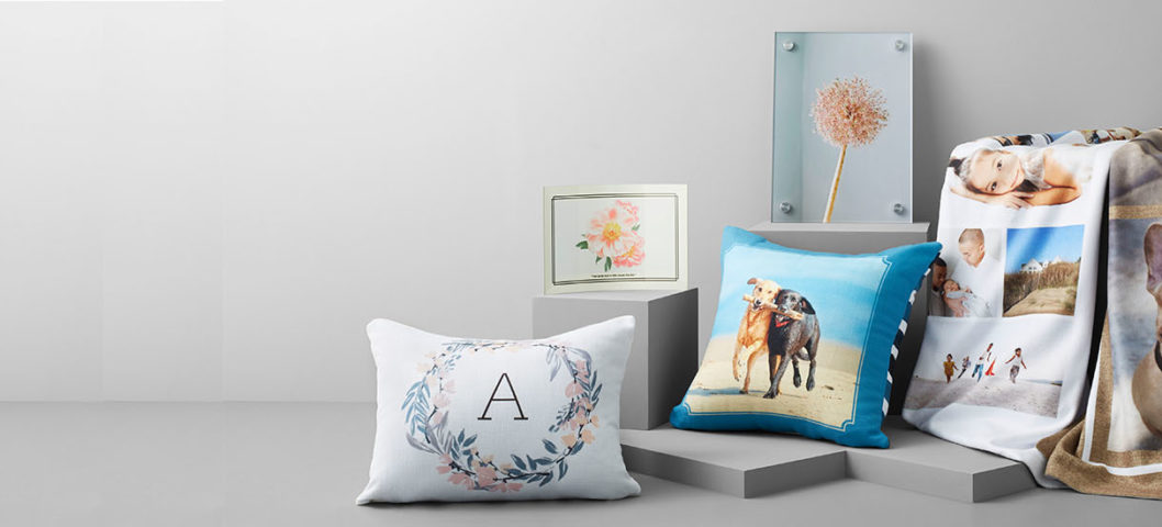 personalized sherpa blankets and home decor items