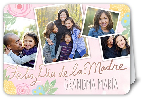 deseos florales mother's day card
